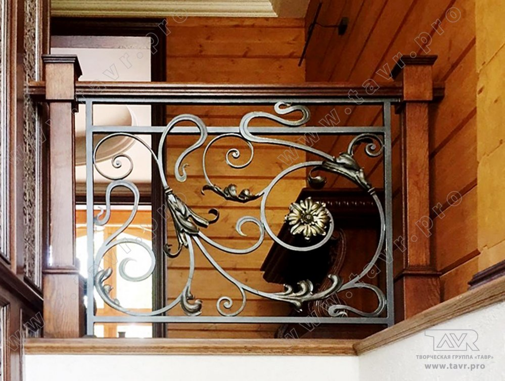 Купить кованые балконы и кованые ограждения тавр - фото, цен.
